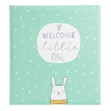Babyalbum Welcome little one mint