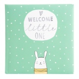 Fotoalbum Welcome little one mint