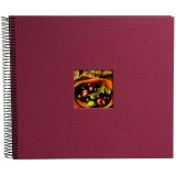 goldbuch Spiralalbum Bella Vista fuchsia gross